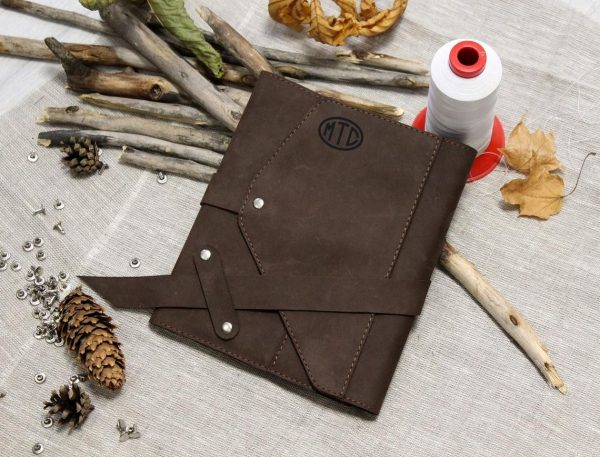 Personalized Leather Journal. USA Miami